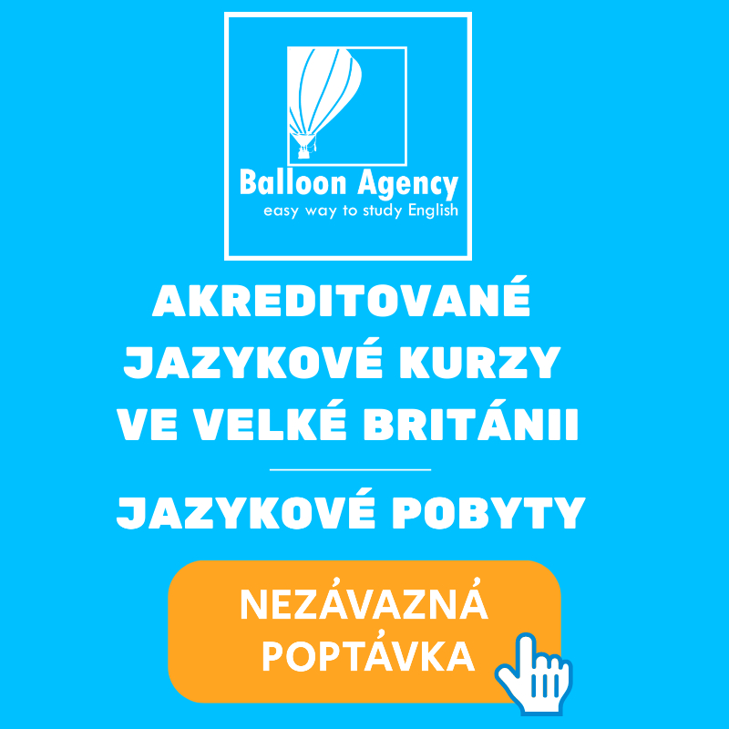 Jazykový pobyt Balloon Agency Anglie